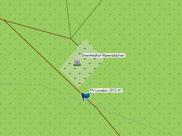 RV-Wandern: Hürtgenwald - Mapping (Soldatenfriedhof)