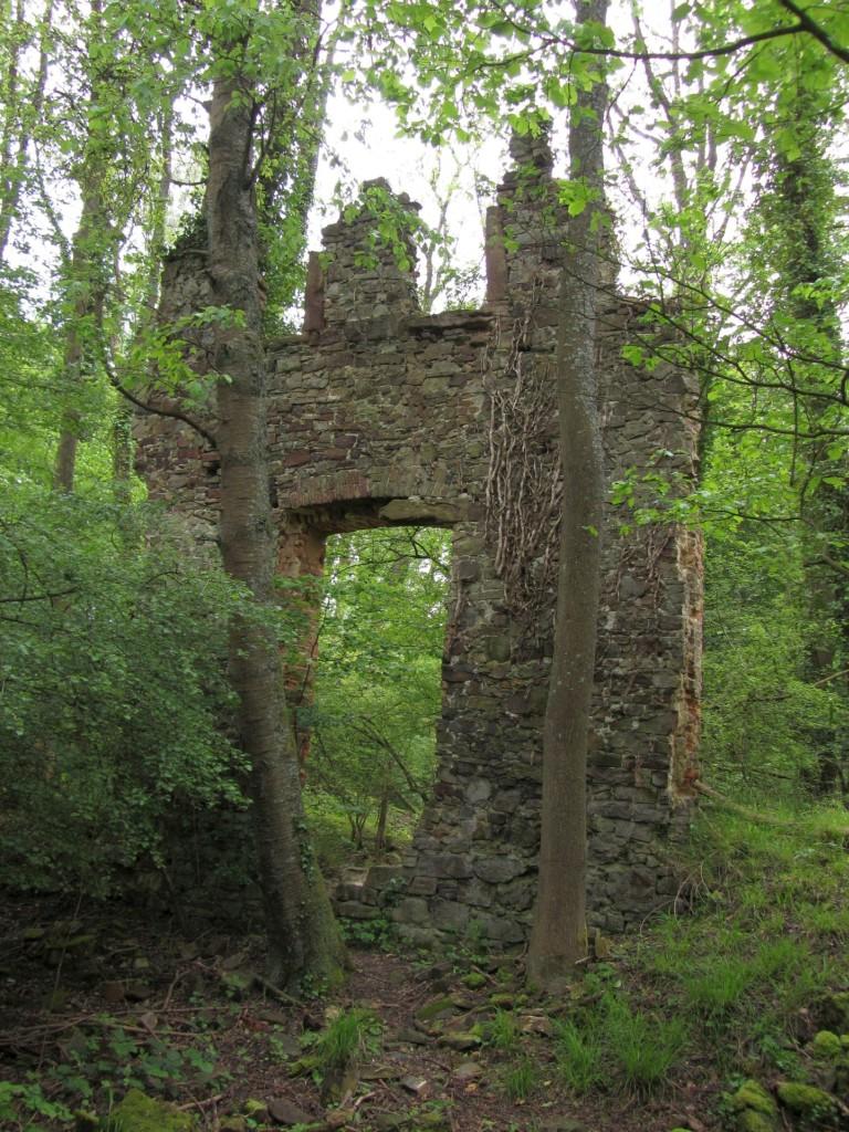 Eines der Klosterruinen-Tore im Detail.