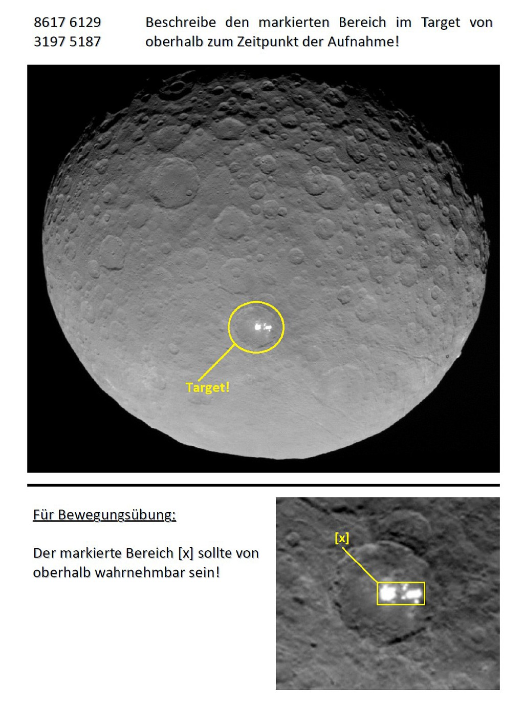RV - Ceres (weiße Flecken) - Target
