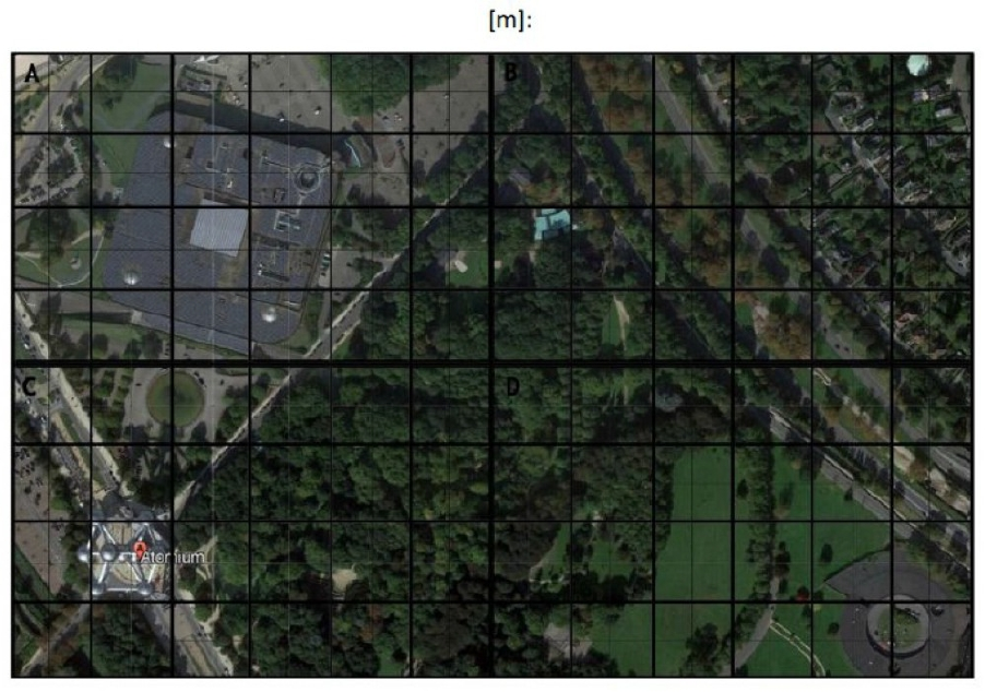 Atomium - Mappingvorlage