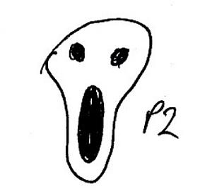 Entführungsprojekt - Herr M. (Wesen-Gesicht)
