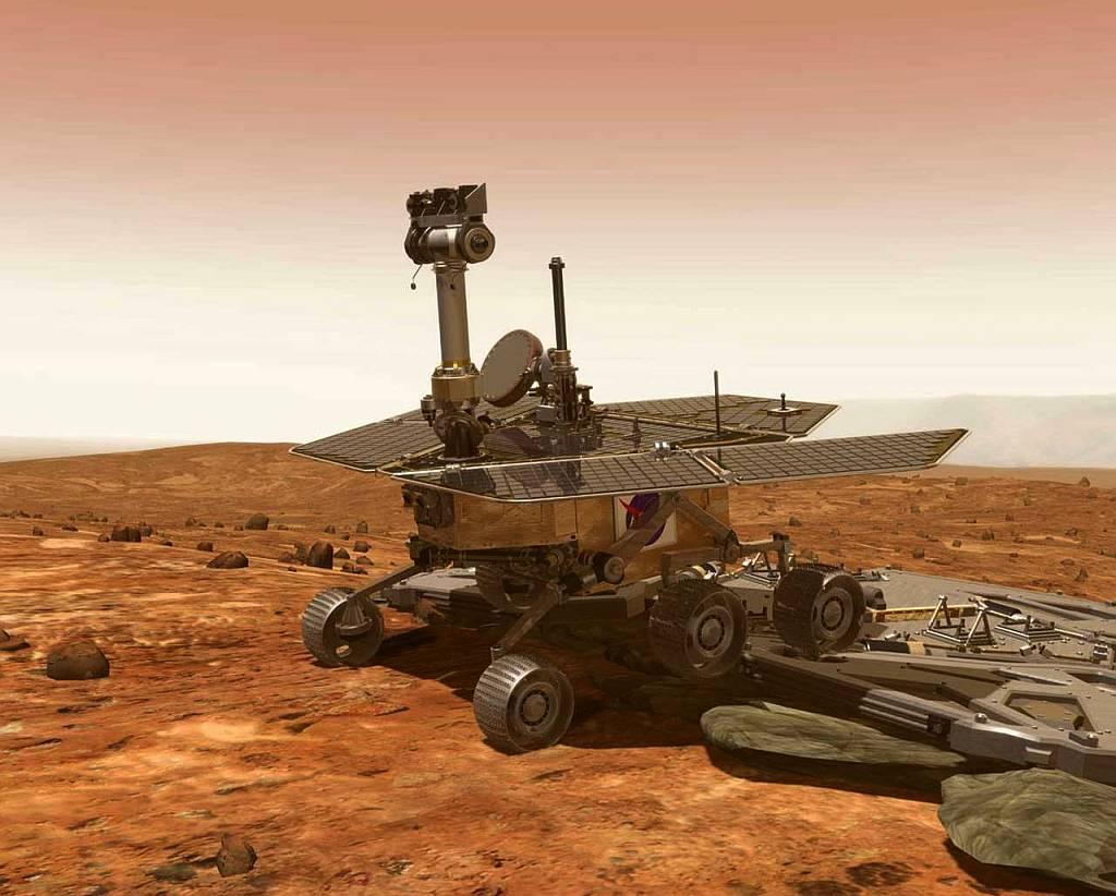 Leben auf dem Mars? - Rover