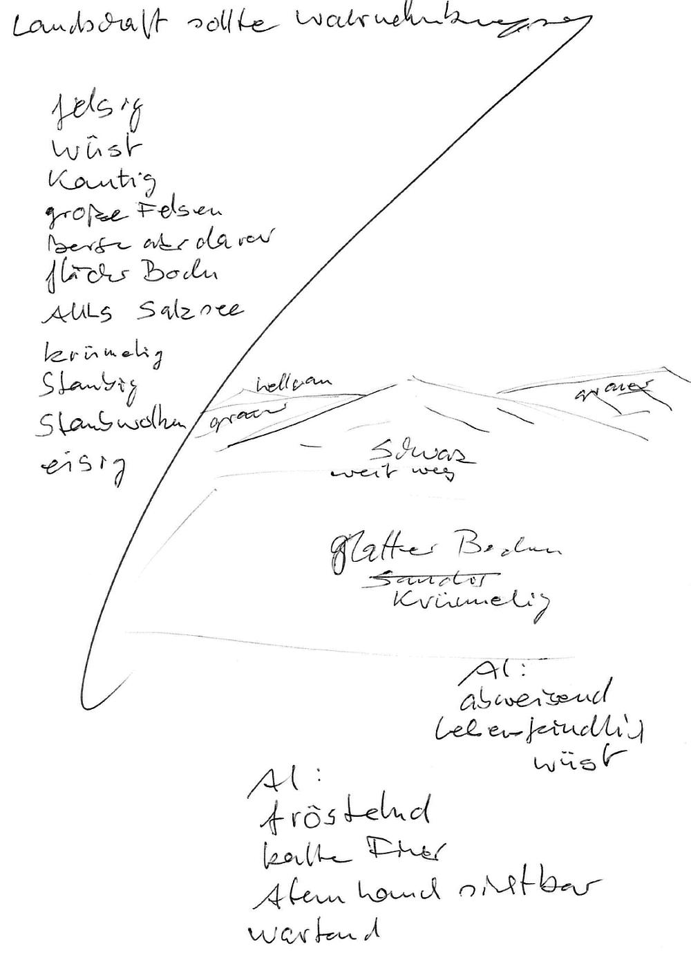 Apollo 11-Aufstiegsstufe (Landschaft)