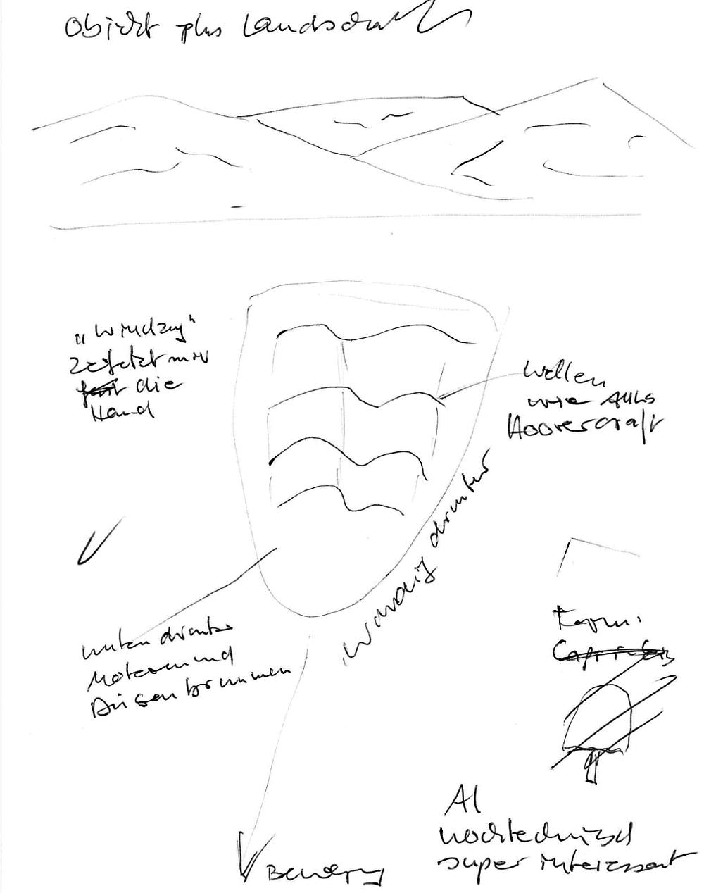 Apollo 11-Aufstiegsstufe (Objekt und Landschaft)
