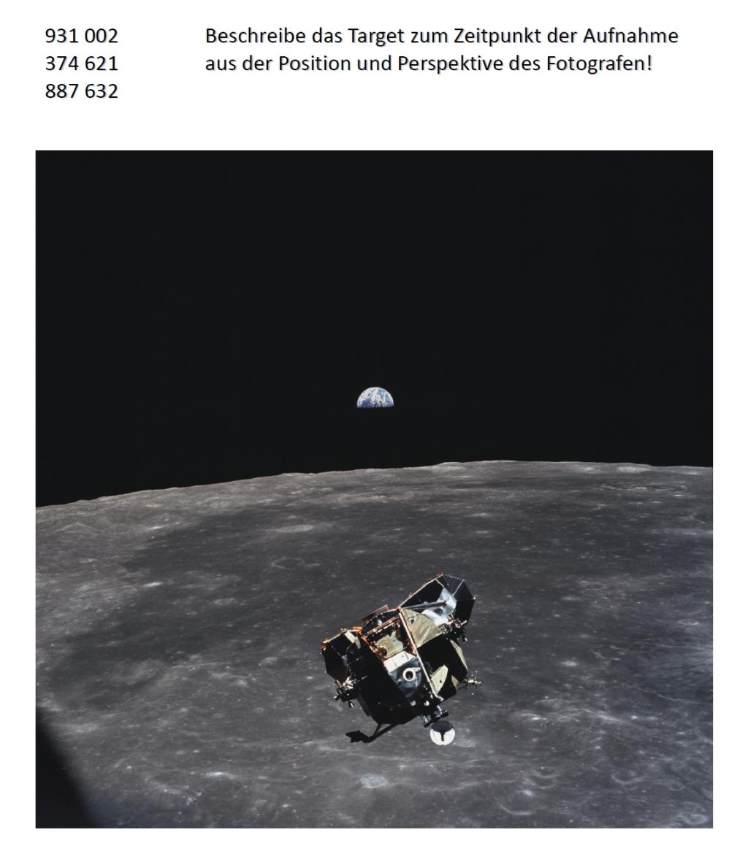 Apollo 11-Aufstiegsstufe (Target)